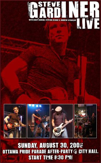 Steve Gardiner Live 2009-08-30
