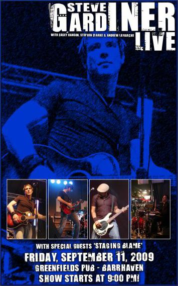 Steve Gardiner Live 2009-09