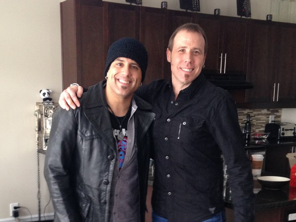 Rich Redmond and Andrew Lamarche