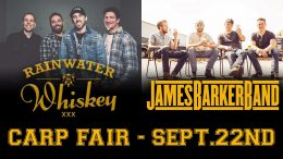 Rainwater Whiskey and James Barker Band - Carp Fair 2018